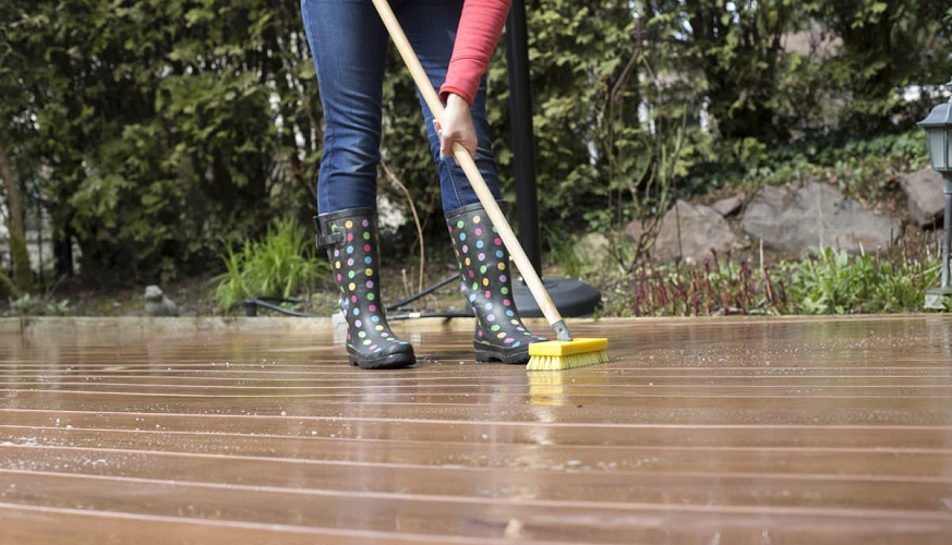 How To Safely Clean Composite Decking